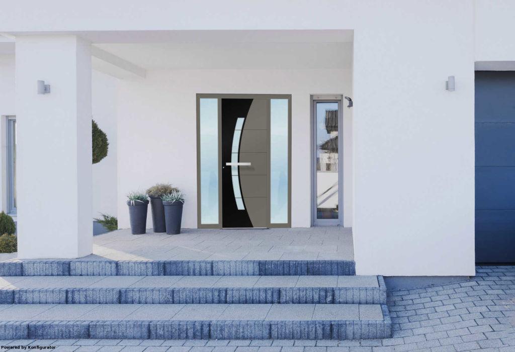Novità porte d'ingresso in alluminio