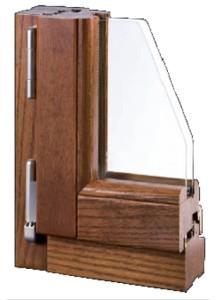 Finestre in legno ecofinestre serramenti e infissi in for Infissi pvc legno