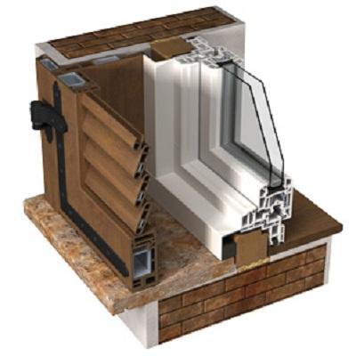 Persiana in alluminio ecofinestre serramenti e infissi in legno alluminio pvc verona - Montaggio finestre pvc ...