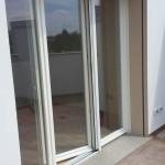 Porta finestra PVC bianco 3 ante