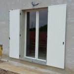 Scuro per porta finestra in PVC