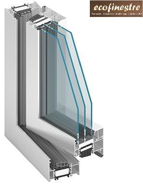 Finestre in alluminio ecofinestre serramenti e infissi - Finestre triplo vetro ...