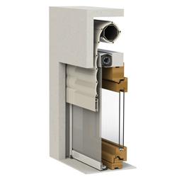 Zanzariere verticali ecofinestre serramenti e infissi in legno alluminio pvc verona - Finestre monoblocco con avvolgibile ...