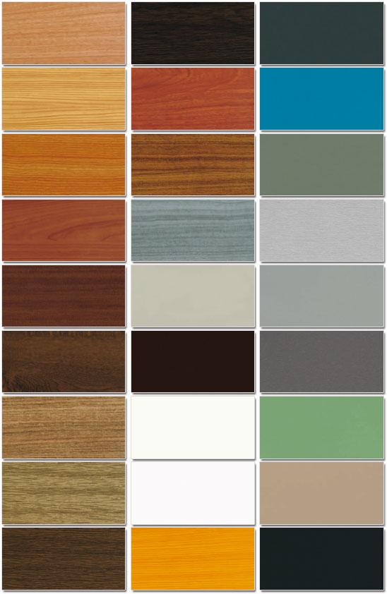 Essenze e colori di rivestimento per serramenti in pvc for Serramenti pvc prezzi