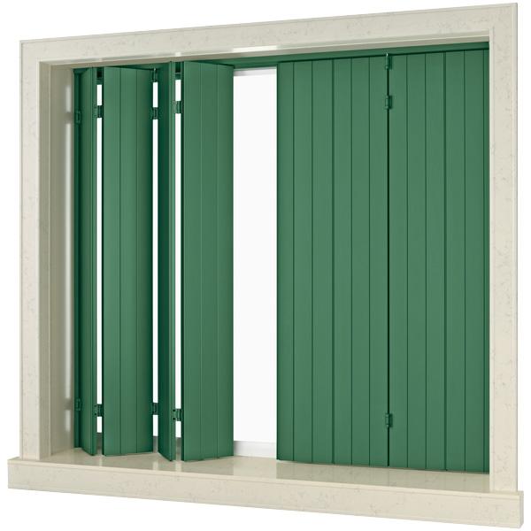 Scuretti in alluminio ecofinestre serramenti e infissi for Finestre per esterni