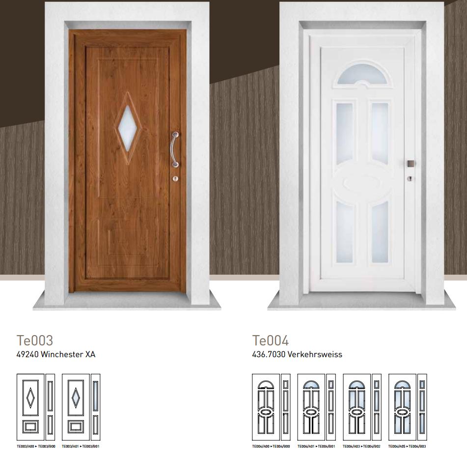 Portoncini pvc ecofinestre serramenti e infissi in legno - Portoncini ingresso legno alluminio prezzi ...
