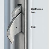 Serrature per porte d'ingresso in PVC e alluminio
