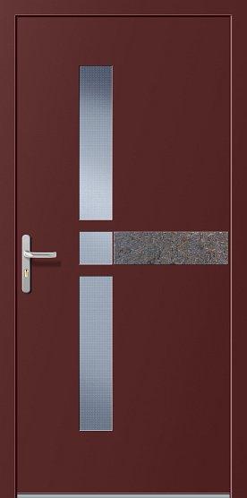 Porte d 39 ingresso in alluminio ecofinestre serramenti e - Scassinare una porta ...