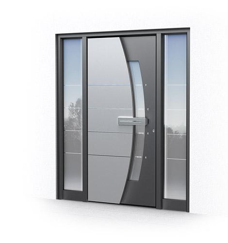 Porte d ingresso in alluminio ecofinestre serramenti e - Scassinare una porta ...